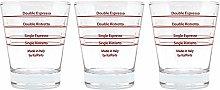 ITALPARTS Round Espresso Shot Glass (3)