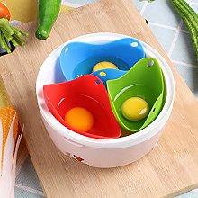 iTimo 1 Pcs Silicone Egg Poacher, Egg Baking