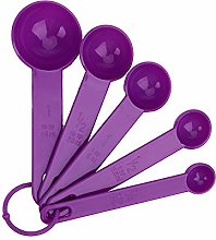 iTimo Plastic Measuring Spoons for Baking Coffee