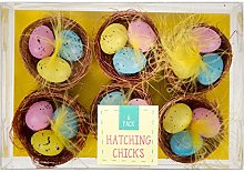 ITP IMPORTS 6x Easter Nest Decorations