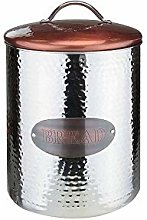 iTrend Copper Airtight Bread Canister - Stainless