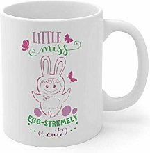 ittle Miss Egg Stremely Cute Funny Holiday Mug