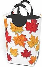 IUBBKI Autumn Leaves Printed Waterproof Foldable