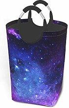 IUBBKI Blue Galaxy Printed Waterproof Foldable