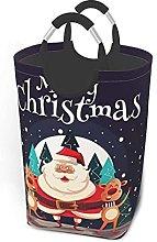 IUBBKI Christmas Santa Printed Waterproof Foldable