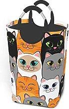 IUBBKI Colors Cat Printed Waterproof Foldable