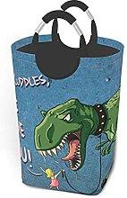 IUBBKI Dinosaur Printed Waterproof Foldable