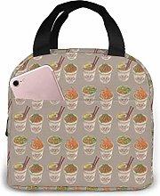 IUBBKI Egg Cup Noodle Ramen Lunch Bag Reusable