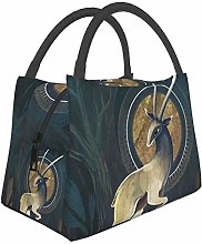 IUBBKI Fawn Insulated Leakproof Cooler Lunch Bag