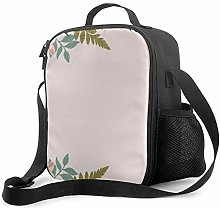 IUBBKI Flower Handle 0 Insulated Lunch Bag,
