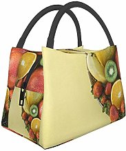 IUBBKI Fruit Insulated Leakproof Cooler Lunch Bag