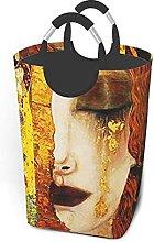 IUBBKI Golden Tears Printed Waterproof Foldable