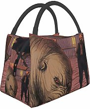 IUBBKI Hound Insulated Leakproof Cooler Lunch Bag