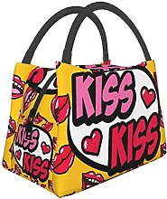 IUBBKI Kiss Mouth Pattern Insulated Leakproof