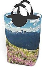 IUBBKI Mountains Printed Waterproof Foldable