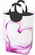 IUBBKI Pink Heart Printed Waterproof Foldable