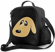 IUBBKI Puppy Canine Insulated Lunch Bag, Leakproof