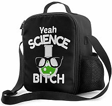 IUBBKI Science Bitch Insulated Lunch Bag,