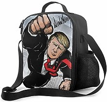 IUBBKI Trump 2020 Insulated Lunch Bag, Leakproof