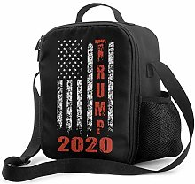 IUBBKI Trump2020 Insulated Lunch Bag, Leakproof