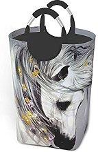 IUBBKI Watercolor Horse Printed Waterproof