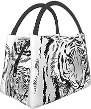 IUBBKI White Tiger Insulated Leakproof Cooler