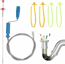 iufvbgxdh 6 Pack 6 in 1 Sink Cleaning Tool Drain