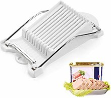 iusaSDZ Stainless Steel Ham Slicer, Lunch Meat