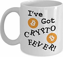 Ive Got Crypto Fever Funny Bitcoin Cryptocurrency