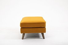 Iverson Footstool Norden Home Upholstery Colour: