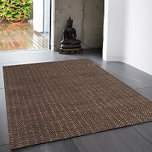 Ives Chocolate Classic Abstract Rug by Asiatic