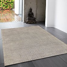 Ives Silver Classic Abstract Rug by Asiatic