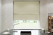 Ivory Double Roller Blind