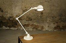 Ivory Jieldé Signal desk lamp vintage design
