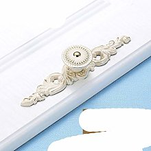 Ivory White Cabinet Knobs and Handles for Kitchen