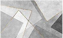 IVQAPP Geometric Pattern Rug Wear-resistant