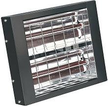 IWMH3000 3000W Infrared Quartz Heater - Wall