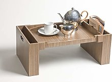 iWOODESIGN LuxuryWood Foldable Bed Tray Breakfast
