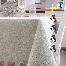 Iycnkok Tablecloth Rectangular Table Cloth Faux
