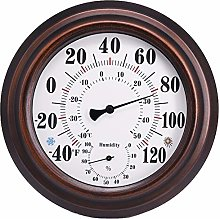 Iycorish Indoor/Outdoor Thermometer Hygrometer for
