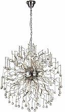 Izyda design pendant light 30 bulbs polished