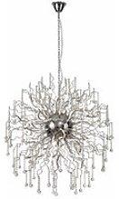 Izyda designer pendant light 40 Bulbs Polished