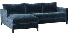Izzy Small LHF Chaise Sofa in Atlantic Roosevelt