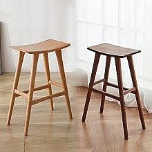 J-DYHGB Solid Wood Stools Barstools Without