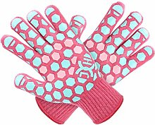 J H Heat Resistant Cooking Glove:EN407 Certified