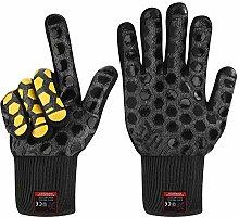J H Heat Resistant Oven Glove:EN407 Certified 932