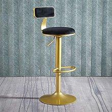 J-HOME Barstools Vanity Stool Velvet Seat Desk
