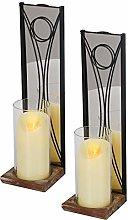 J JACKCUBE DESIGN Wall Candle Holder Sconces Set