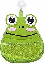 J&K Green Frog Baby Bath Toys Organiser Storage,
