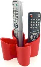 J-Me - Red Cozy Desk Tidy Remote Control Holder -